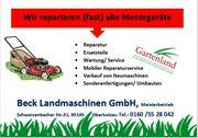 Reperatur Kundendienst Service Garten Landmaschinen