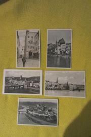 5 Ansichtskarten Postkarten von Wasserburg