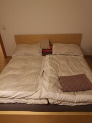 Bett inkl Matratzen