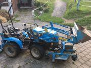 Kleintraktor Mit Frontlader