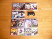 PS-3 Controller Spielesammlung