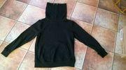 Schwarzes Sweatshirt mit Rollkragen neuwertig