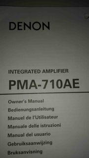 DENON PMA-710AE HiFi-Verstärker - defekt