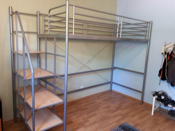 Etagenbett Für Erwachsene 90x200 Metall : Metall hochbett 90x200. good unter with
