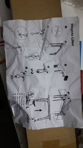 Fahrrad deckenlift gebraucht kaufen  Bludenz