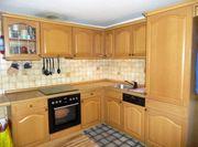 L-Küche eiche hell rustikal