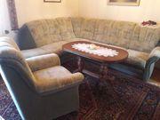 Couchgarnitur mit Sessel