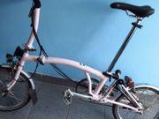 BROMPTON LD6 Faltrad rosa Fahrrad
