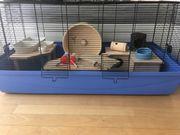 Hamsterkäfig mit Zubehör
