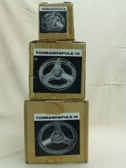 Tonbandleerspulen 8, 13