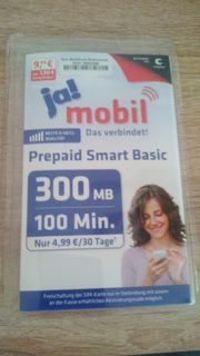 Ja mobil Prepaid Smart Basic
