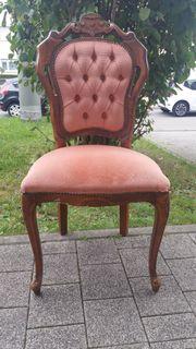 Altes hochwertiges Stuhl Holzstuhl