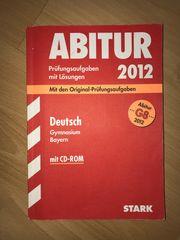 Abitur 2012 Bayern Deutsch