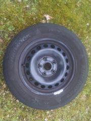 4 Stahlfelgen+ Reifen +