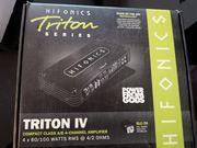 Hifonics Triton IV Autoanlage