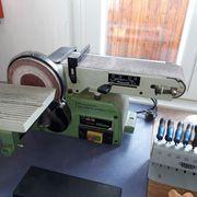 Band und Tellerschleifmaschine