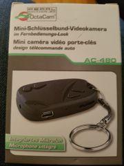 mini schlüsselbund videokamera