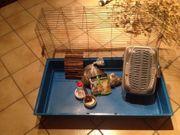 Kaninchen- Hamster- oder Meerschweinchenkäfig