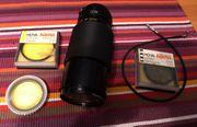 Analoges Canon FD-Telezoom 70-210 plus