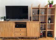 Echtholz Wohnzimmerschrank
