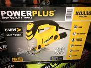 Stichsäge Powerplus 650Watt