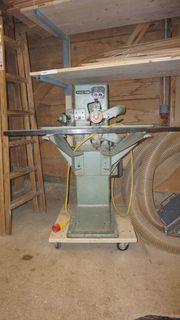 Bündighobelmaschine Holzher