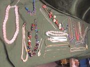26 Ketten Schmuck Modeschmuck Halsketten
