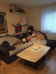Sofa mit Bettfunktion und Bettkasten