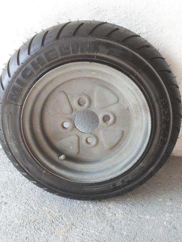 Anhängerrad - Waghäusel - unbenutzt 3,5 x 10Marke Michelin - Waghäusel