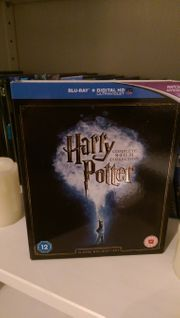 Harry Potter Bluray Box Komplett