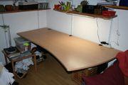 Schreibtisch geschwungen - Design