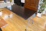 Moderner Schreibtisch 160x80 cm schwarz