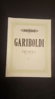 Edition Peters: Gariboldi -