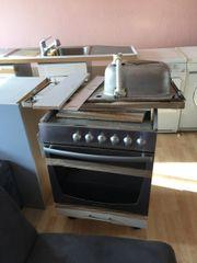Küchenzeile/Anbauküche weiß