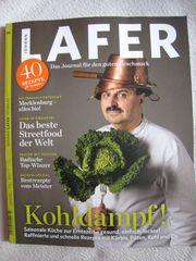 NEU ungelesen Journal Johann Lafer