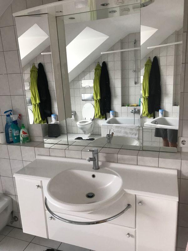 Badezimmereinrichtung in weiß in Karlsruhe - Bad, Einrichtung und ...