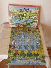 Achtung frecher Frosch -