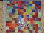 Tolle italienische Glas-Mosaikkacheln hochwertige weiße