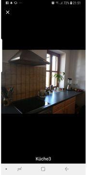 schöne Küchenzeile L-Form Holz mit